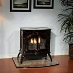 propane gas cast-iron stove
