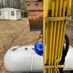 propane gas tank replacement after