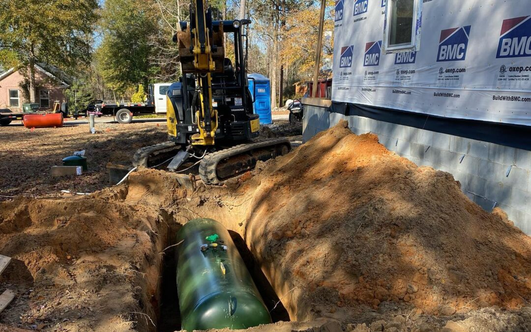 Residential Underground Propane Tank