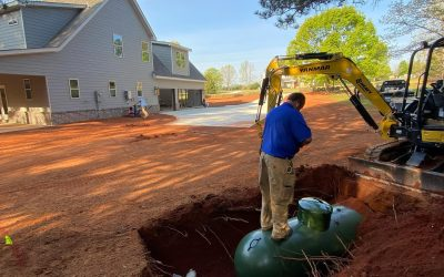 Propane Gas Tank Installation for New Construction Homes