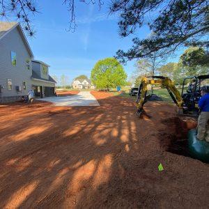 Propane Gas Tank Installation at The Riata Equestrian Community