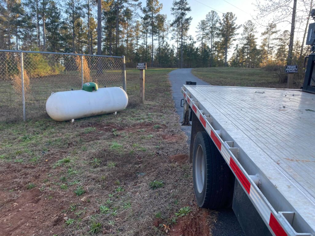 propane tank swapping