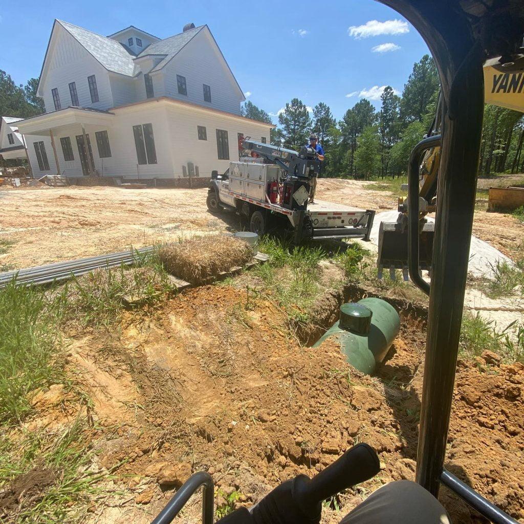 residential propane gas installation macon ga