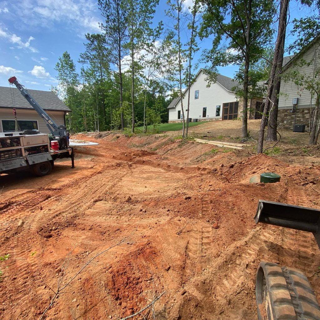 residential propane gas installation gray ga