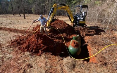 Another Underground Propane Tank Installation
