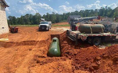 Underground 1000 Gallon Propane Tank Installation